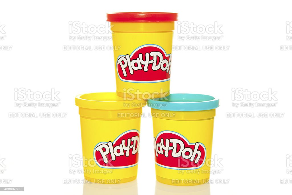 Play-Doh stock photo