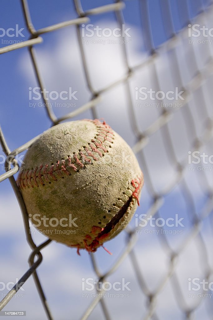 Played Hard royalty-free stock photo
