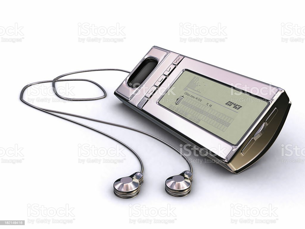 MP3 Player 01 royalty-free stock photo