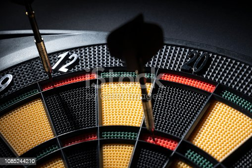 istock A player manages to finish a 501 in nine darts 1085244210