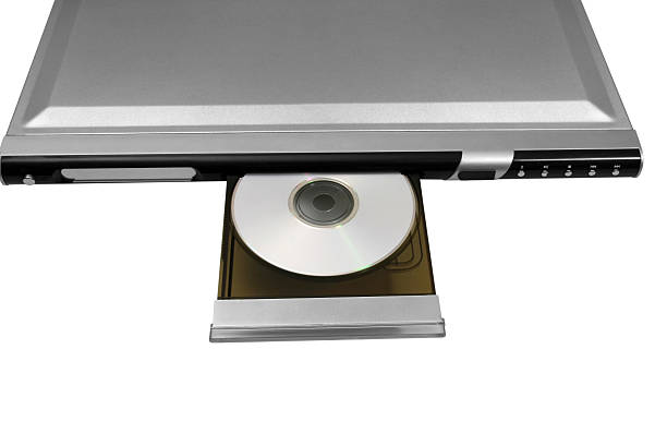 reproductor de dvd y cd - mp4 fotografías e imágenes de stock