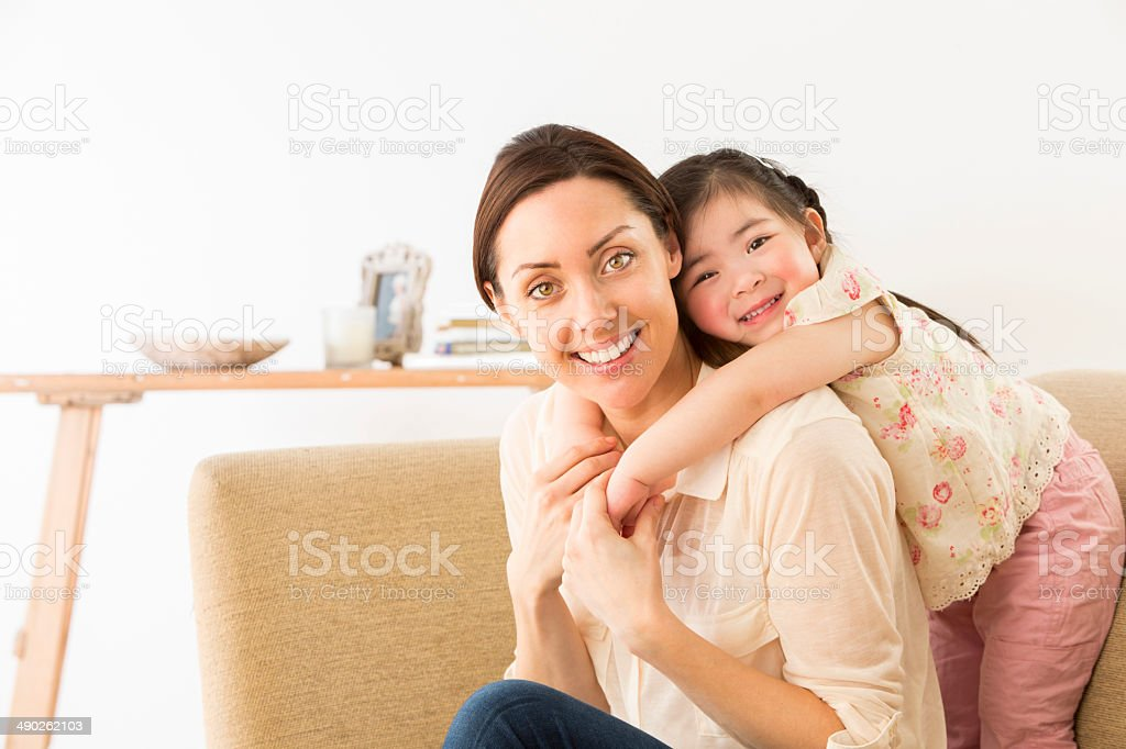 Playful Affection stock photo