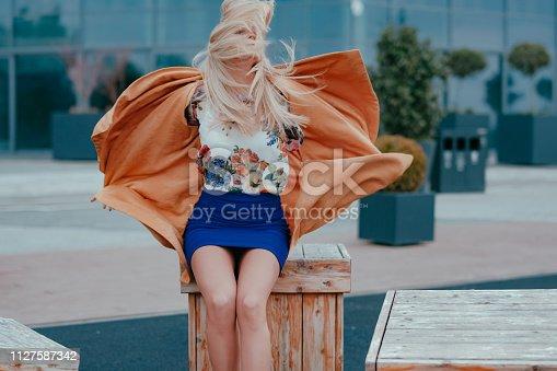 istock Playful beauty 1127587342