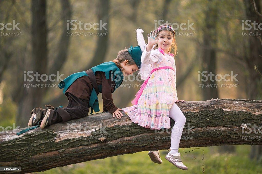 Verspielte Kinder – Foto