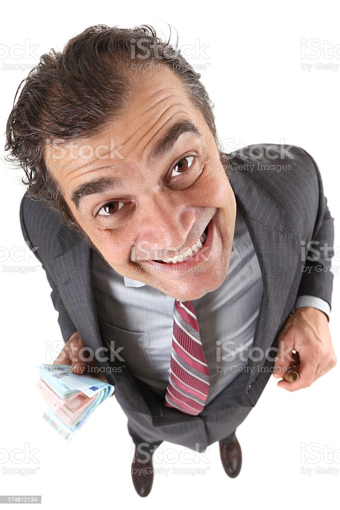 Playful gangster royalty-free stock photo