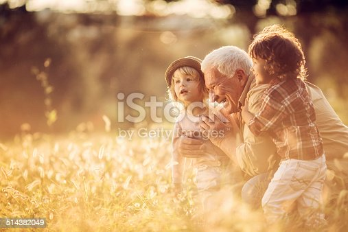 istock Playful grandfather 514382049