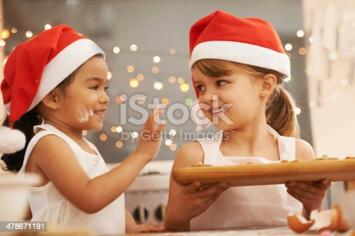 istock Playful holiday bakers 478671191
