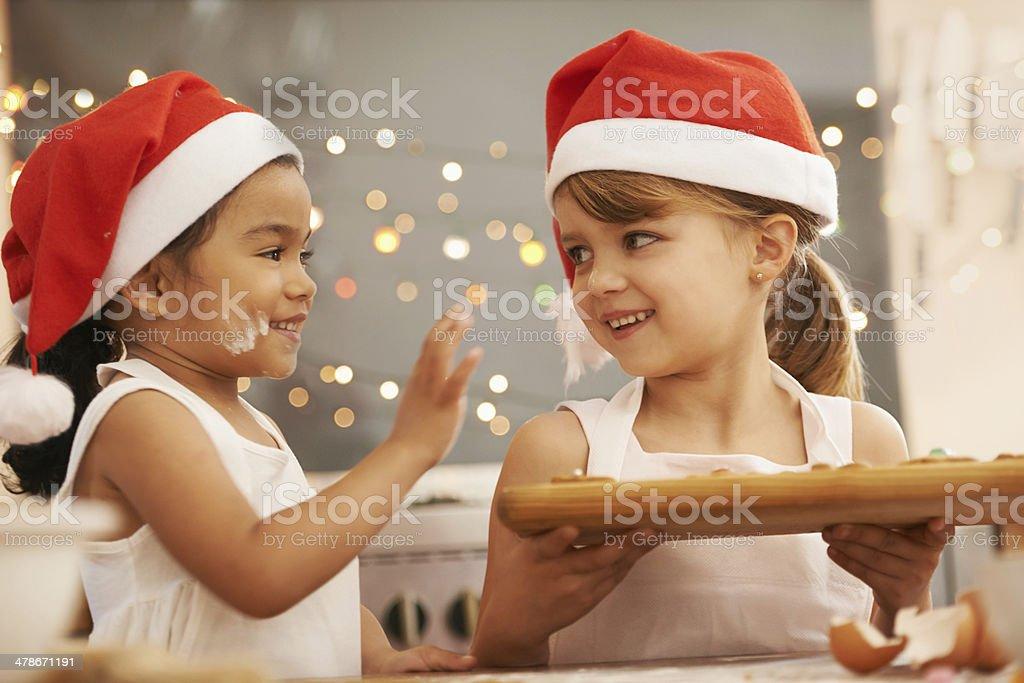 Verspielte holiday bakers – Foto