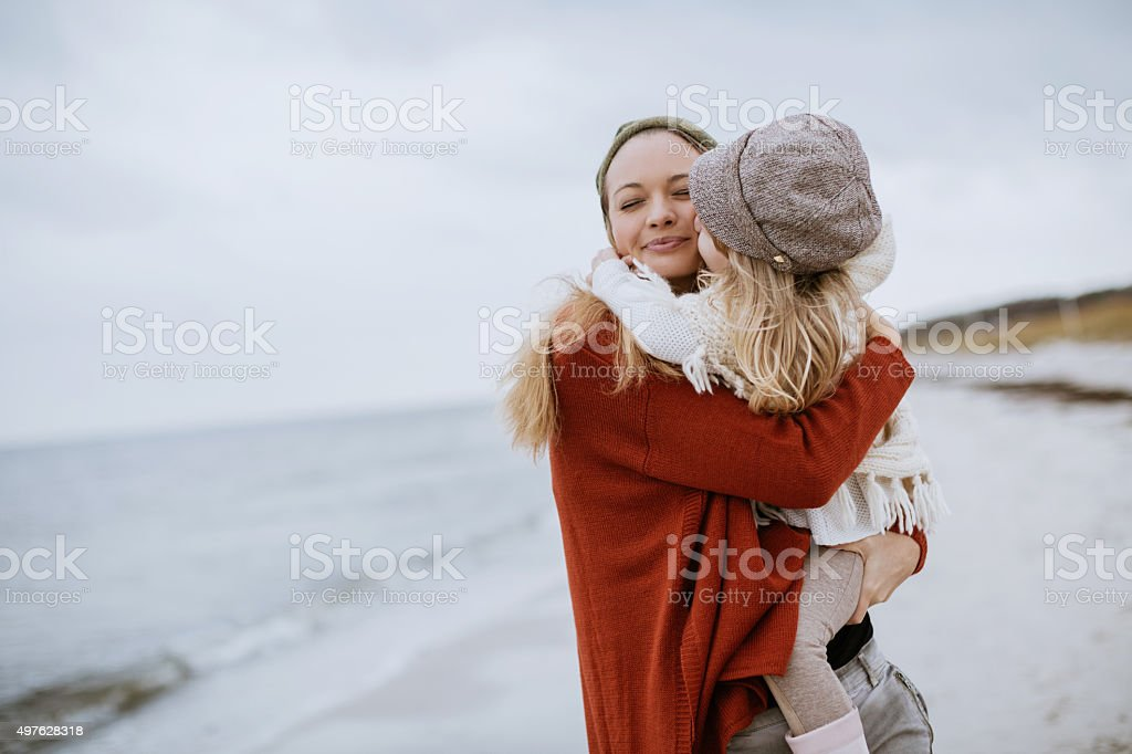 Playful mother stock photo