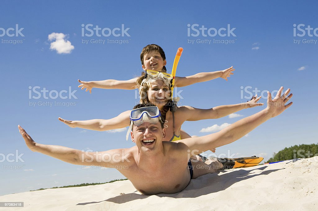 Playful people royalty-free stock photo