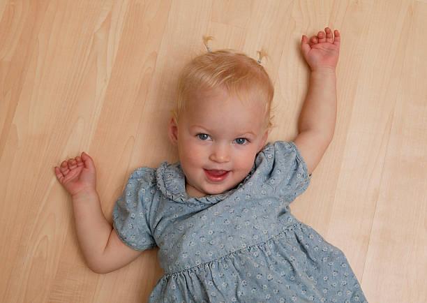 Playful Toddler stock photo