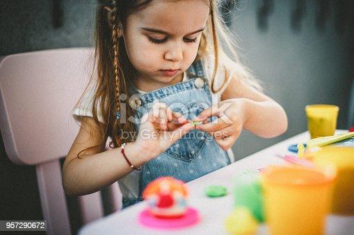 istock Playful toddler 957290672