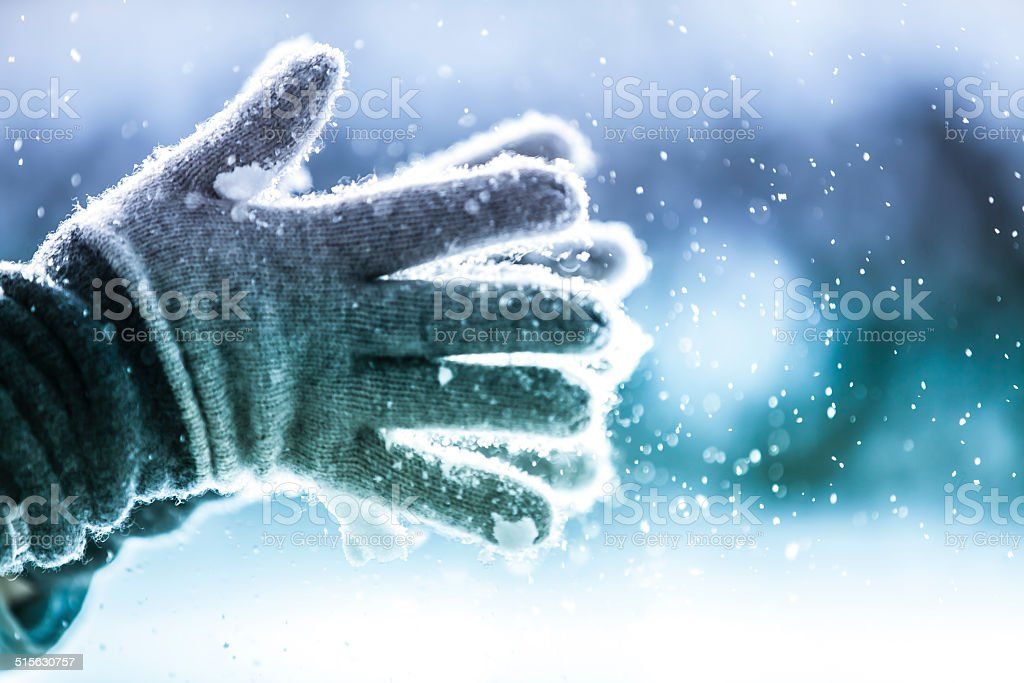 Playful Winter stock photo