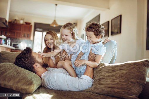 611179902istockphoto Playful young family 611179390