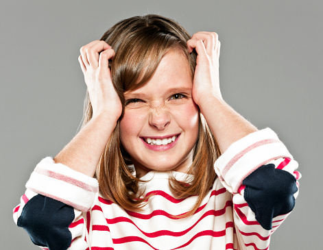 Playfull Girl Stock Photo - Download Image Now