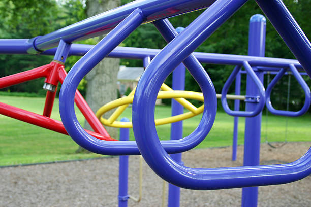 Playground Bars stock photo