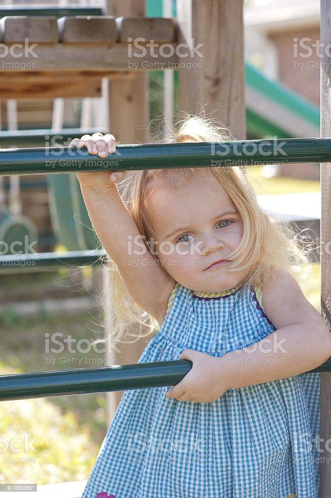 Playground Beauty royalty-free stock photo
