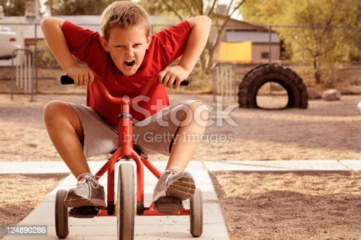 istock Playground  Bully On The Move 124890286