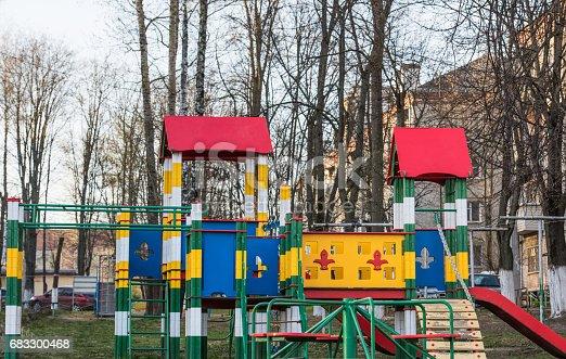 656743520 istock photo Playground for children 683300468