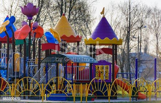 656743520 istock photo Playground for children 683300470