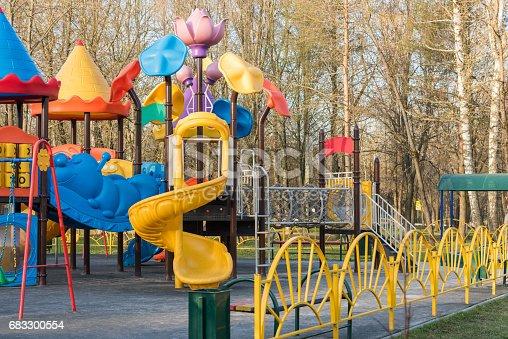 656743520 istock photo Playground for children 683300554