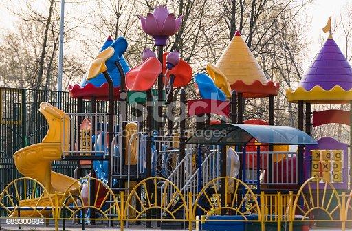 656743520 istock photo Playground for children 683300684