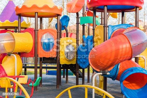 656743520 istock photo Playground for children 683300780