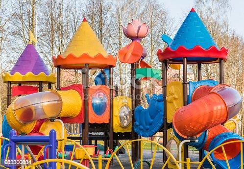 656743520 istock photo Playground for children 683300834