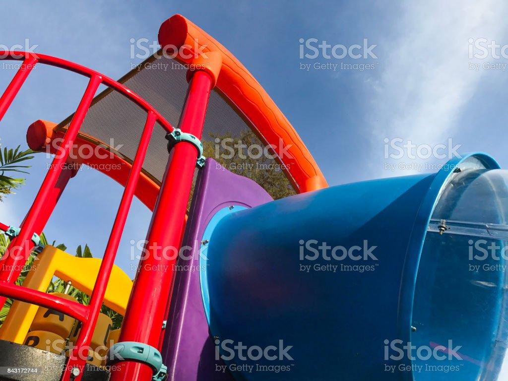 playground for kid stock photo