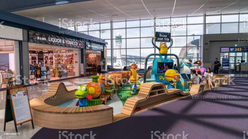 Spielplatz Für Kinder Im Innenraum Incheon International Airport ...