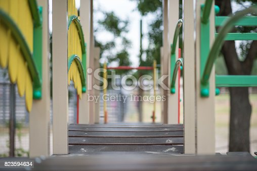656743520istockphoto Playground for small children, recreational facilities 823594634