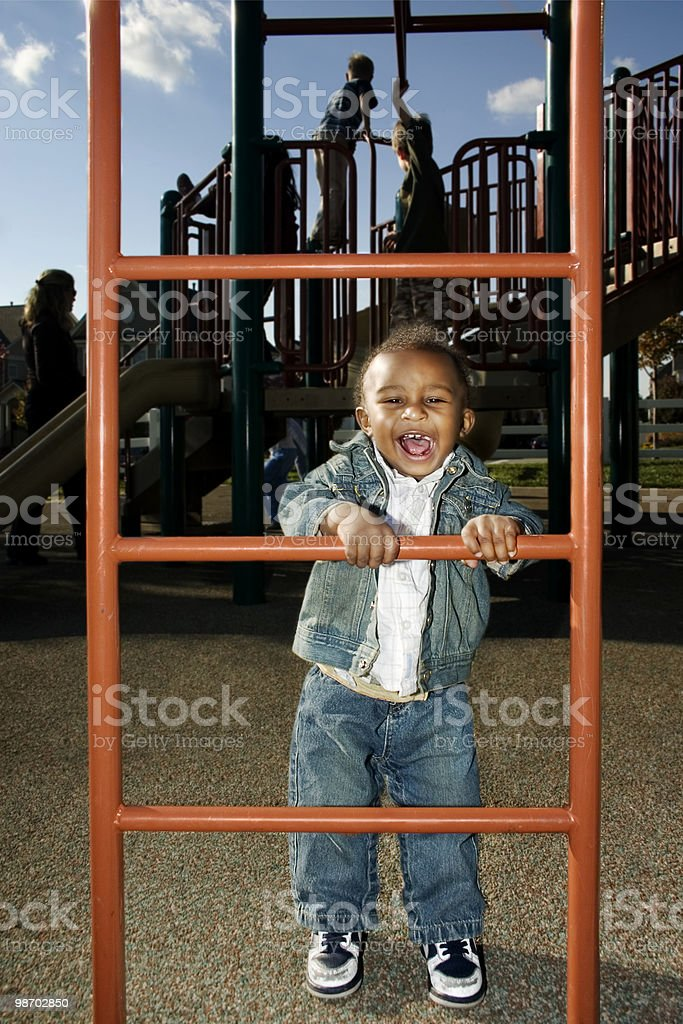 Playground Fun royalty-free stock photo