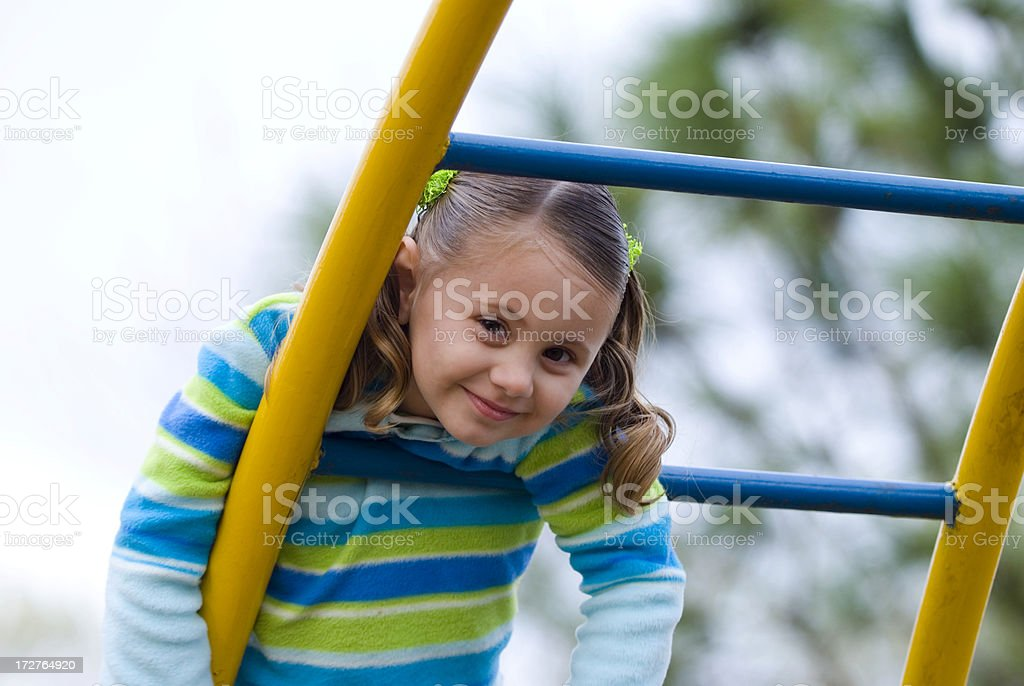 Playground Happiness royalty-free stock photo