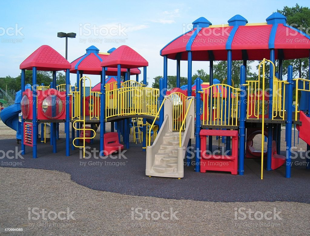 Playground stock photo