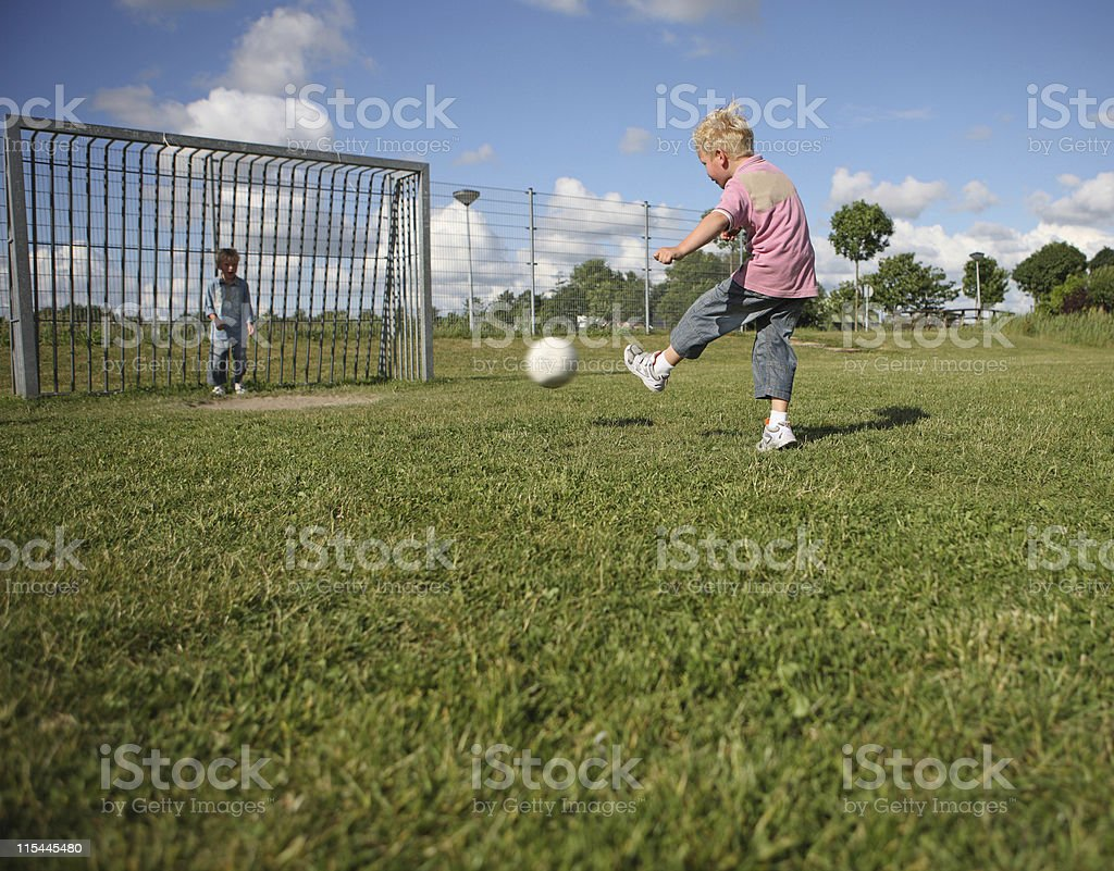 Playground Soccer royalty-free stock photo