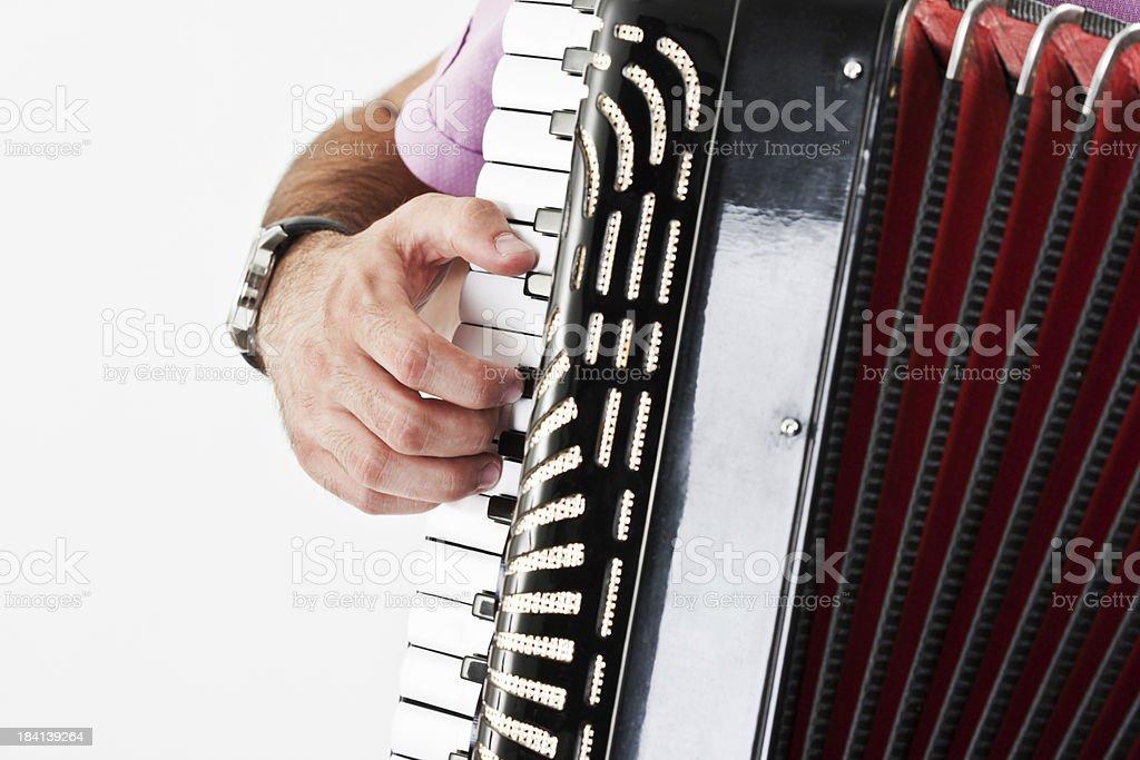 Spielt Akkordeon – Foto