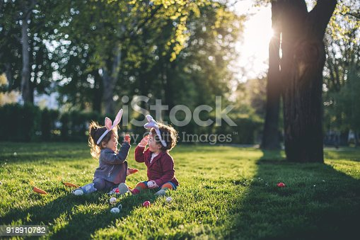 istock Playing at the park during holidays 918910782