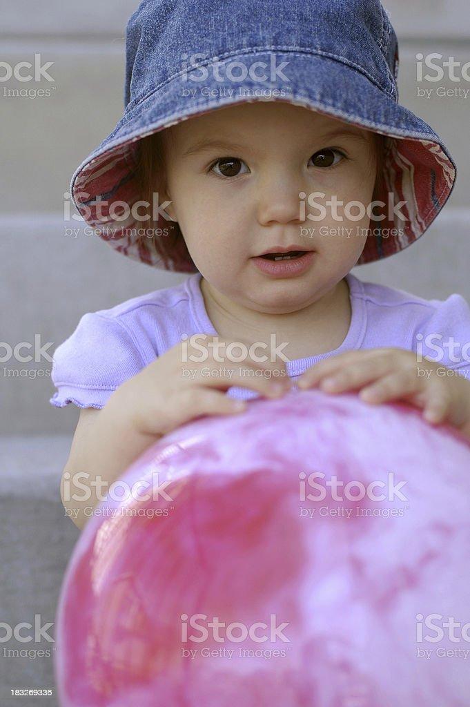 Playing Ball stock photo
