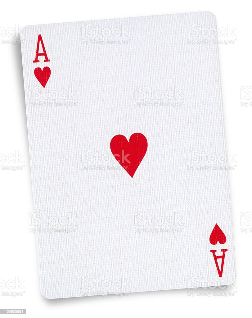 Playing card Isolated stock photo