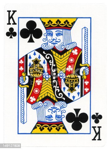 Playing Card King Of Clubs Stock Photo & More Pictures of ...