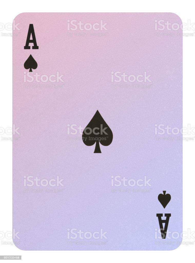Playing cards, Ace of spades – zdjęcie