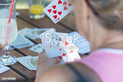 istock Playing cards 838488968