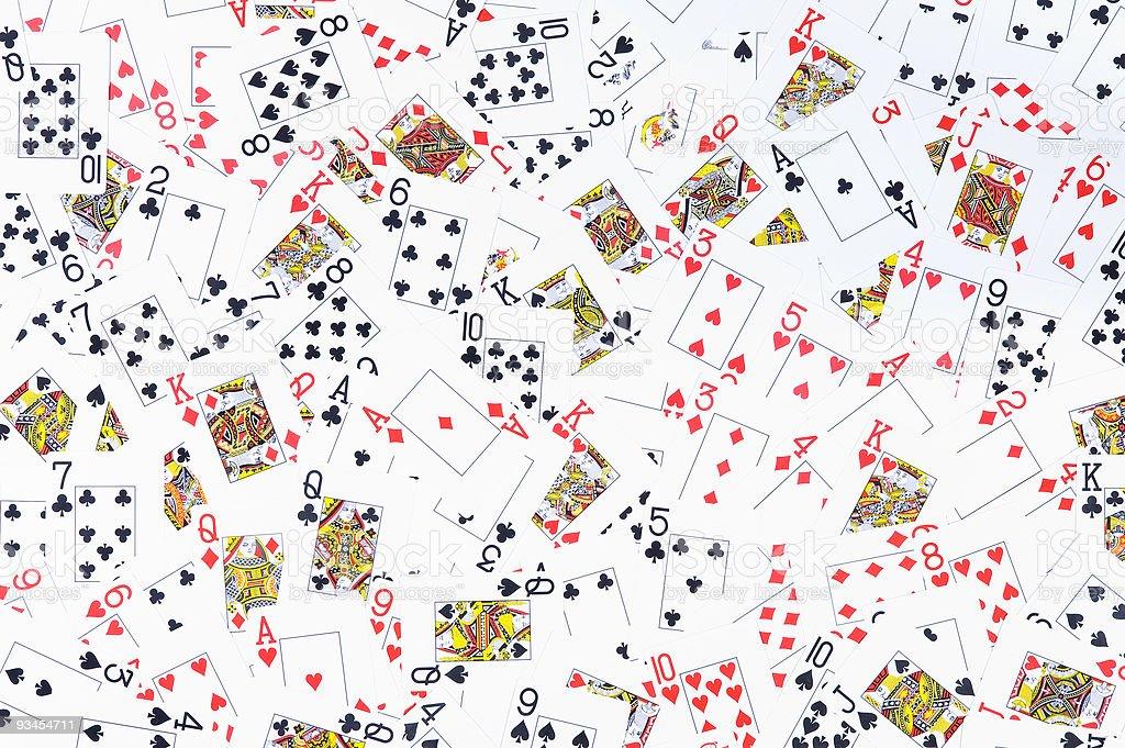 Spielkarten Lizenzfreies stock-foto
