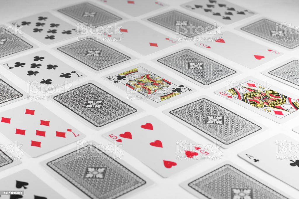 Playing Cards stock photo