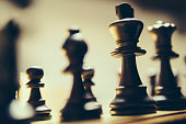 Playing, chess, king, strategy, game, war, table, check mate