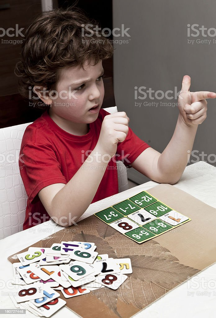 Playing Child royalty-free stock photo