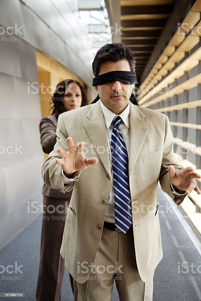 playing corporate games royalty-free stock photo