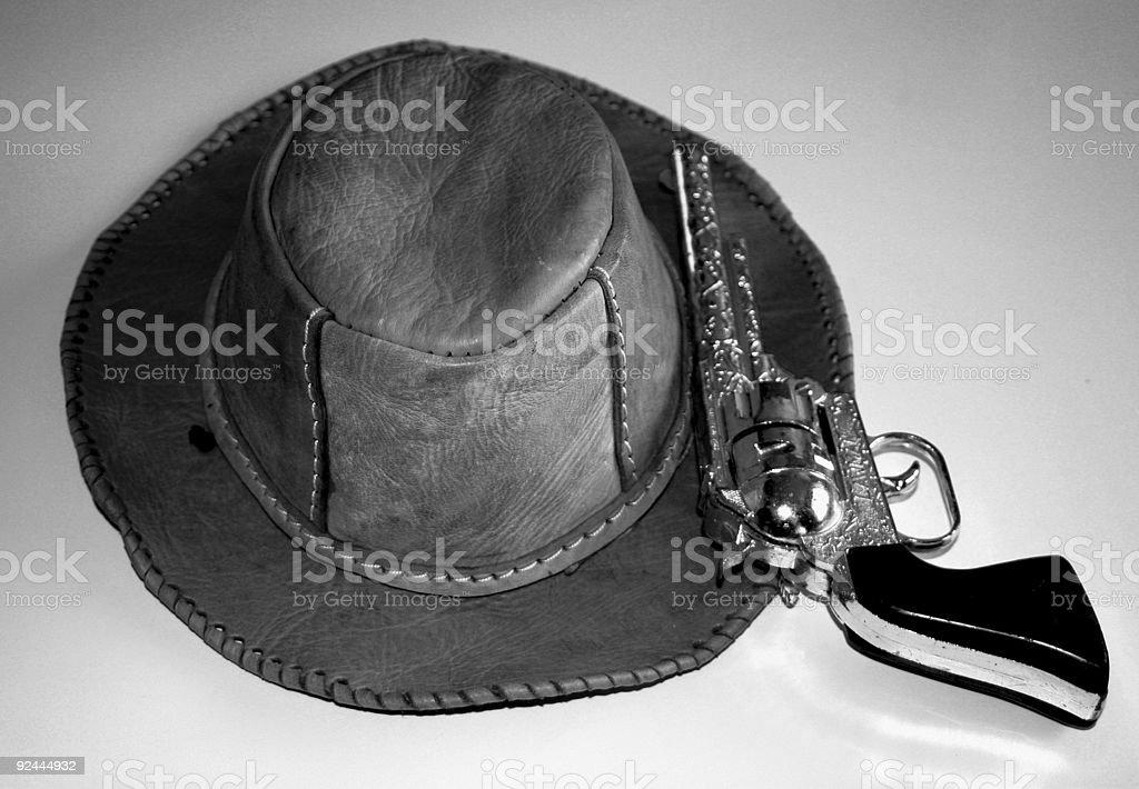 Playing Cowboy royalty-free stock photo