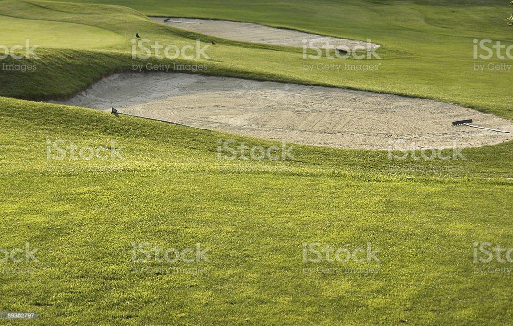 Gra w golfa 2 zbiór zdjęć royalty-free