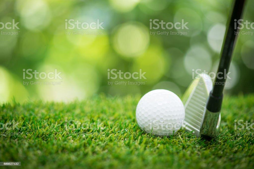 Jugar golf - foto de stock